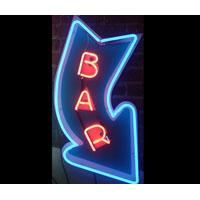 Arrow Bar Neon Sign