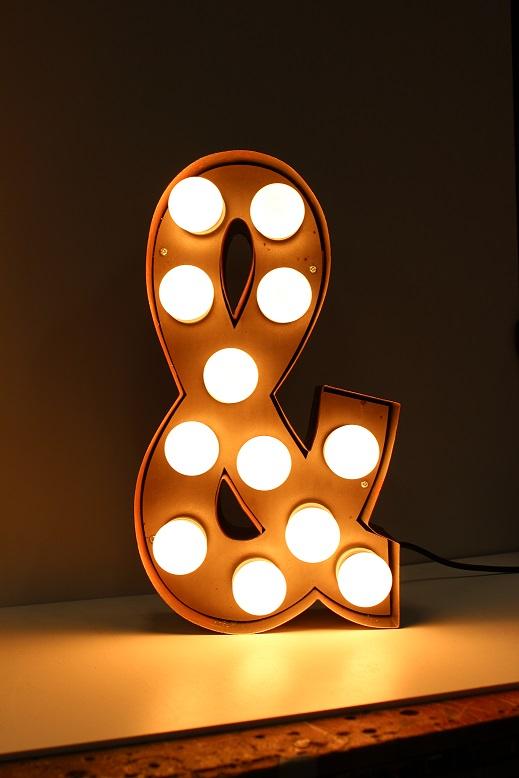 Bulb sign Letters:,Lighting