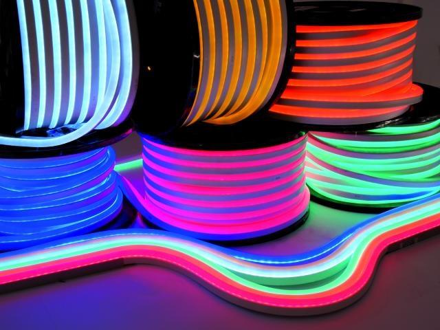 neon flex 230v 50mtr roll. Black Bedroom Furniture Sets. Home Design Ideas