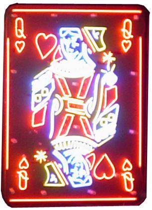 Queen Of Hearts Neon Sign Neon12