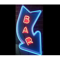 Arrow Bar Neon Sign