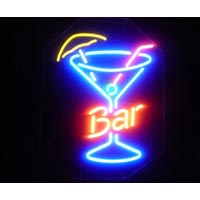 Glass Bar Neon Sign