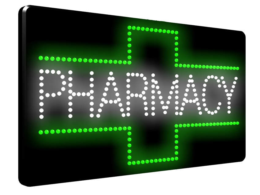 Green Cross Pharmacy Led Sign Ldx 20