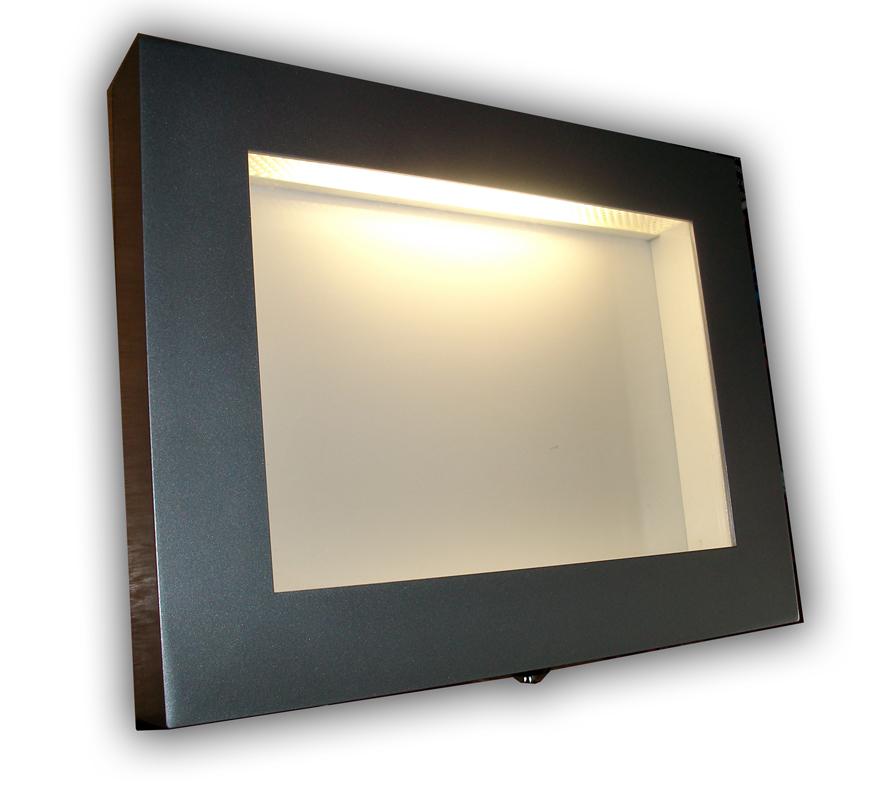 Led Illuminated Menu Case