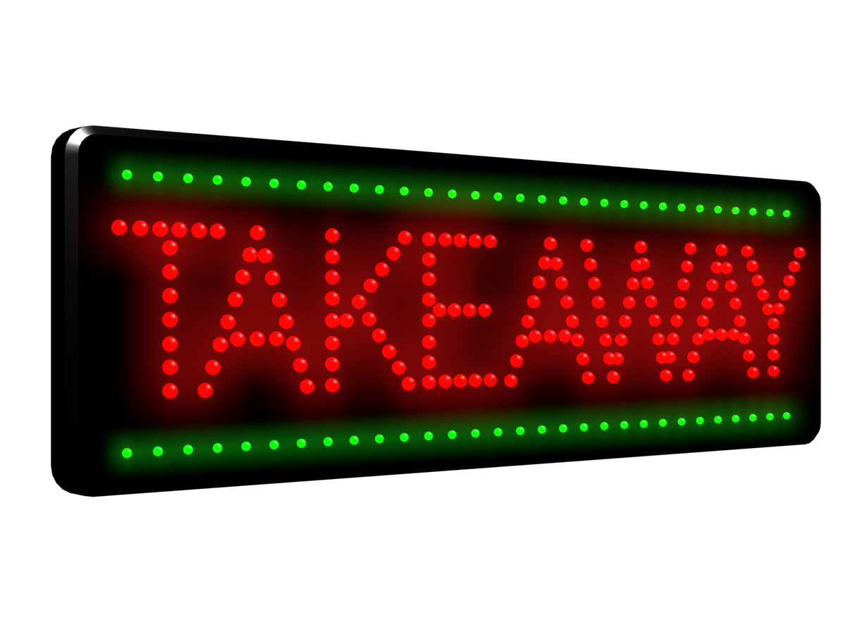 Takeaway Led Sign Ldx 29