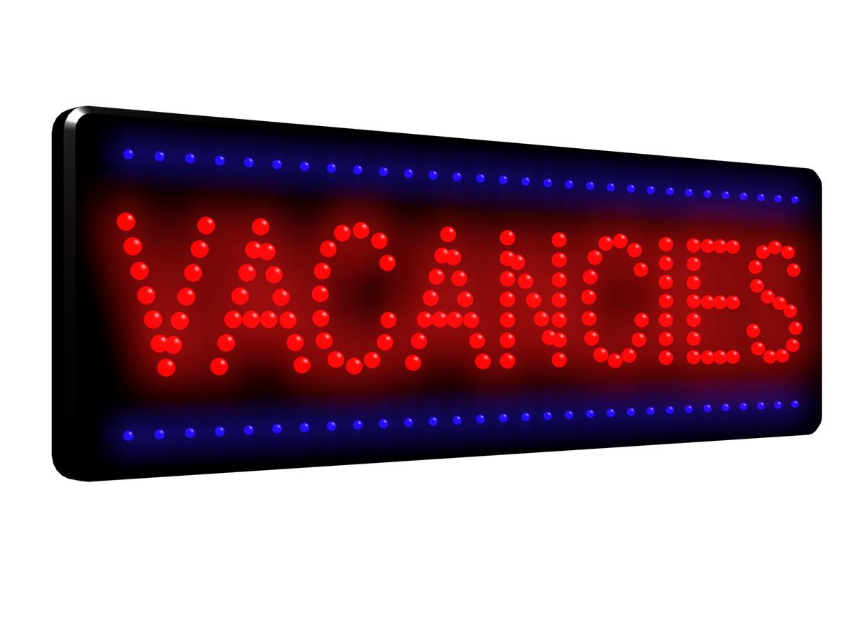 Vacancies Led Sign Ldx 25